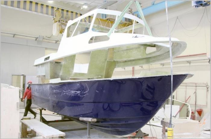 В Волгоградской области расширяют производство катеров из композитных материалов