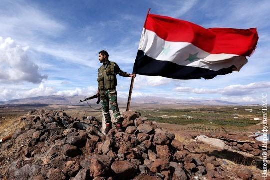 Зоны безопасности в Сирии означают, что Вальцману «перекроют кислород» на Украине