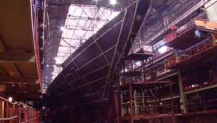 Новые технологии: в России строится новейший боевой корабль-невидимка