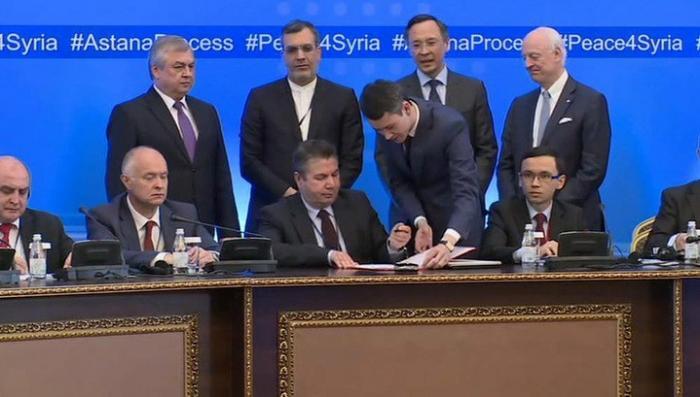 В Астане прорыв в переговорах по Сирии: Дамаск и оппозиция готовы прекратить воевать