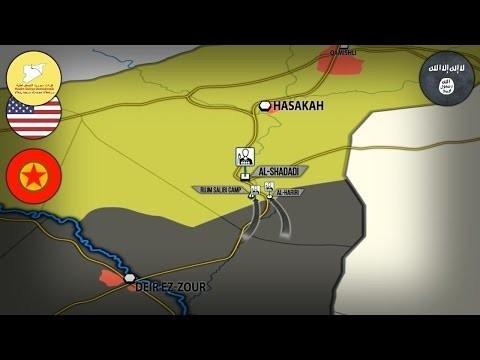 Сирия: атака ИГИЛ на спецназ США и курдов