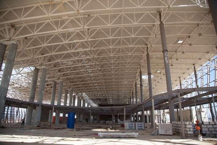 Международный аэропорт «Симферополь»: ход строительства нового терминала