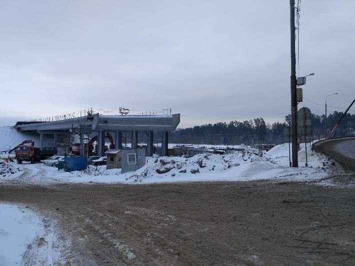Ход строительства Центральной кольцевой автодороги вМосковской области