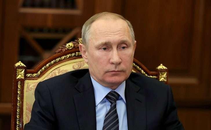 Встреча Владимира Путина суполномоченным поправам человека Татьяной Москальковой