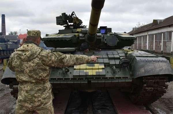 Украину пригласили в НАТО на танковые игры
