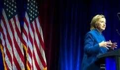 Бывший государственный секретарь США Хиллари Клинтон