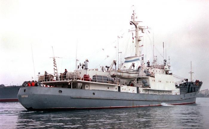 Погоня спецслужб за тайнами затонувшего в Чёрном море СРЗК «Лиман»