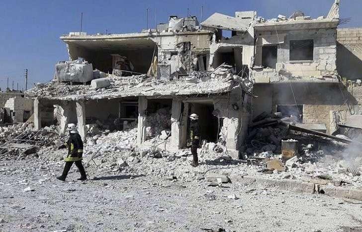 Центр по примирению заявил о постановочных съемках якобы последствий обстрелов в Сирии