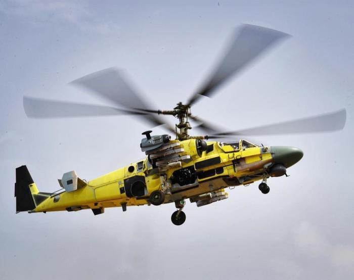 Ка-52 «Аллигаторы», построенные для Египта проходят первые испытания