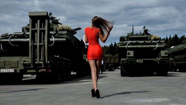 Мир спасет красота русского оружия и мужество русского воина