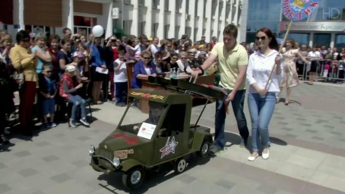 В Пятигорске накануне Дня Победы состоялся парад «военизированных колясок»