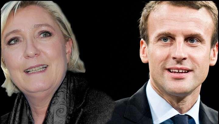Первые данные МВД Франции: Эммануэль Макрон обходит Марин Ле Пен с 60,19% голосов
