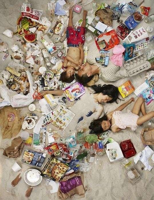 Дикая Америка утопает в своём мусоре