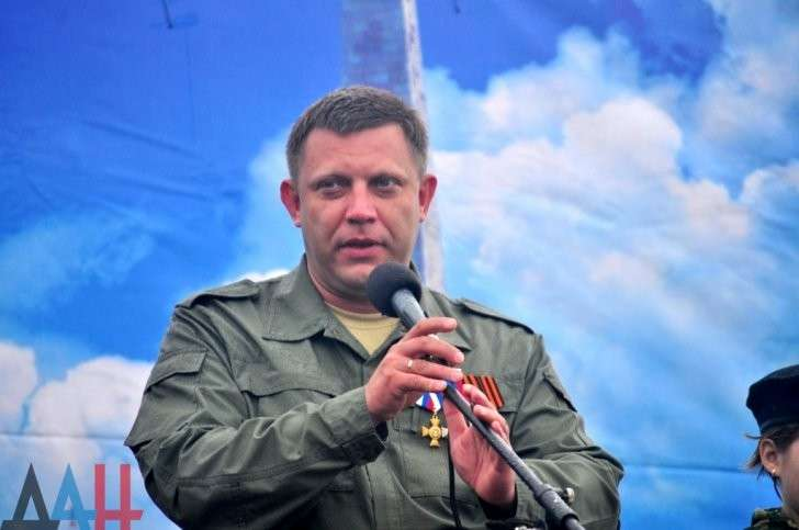 ДНР: Александр Захарченко обвинил Украину в организации взрывов в районе Саур-Могилы