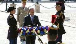 Торжественные мероприятия по случаю годовщины окончания Второй мировой войны в Европе прошли в Париже
