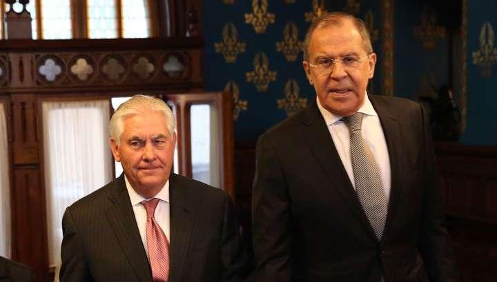 Сергей Лавров и Рекс Тиллерсон обсудят 10 мая в Вашингтоне Сирию и Украину