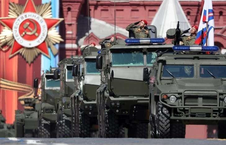 Парад Победы на Красной площади. Видеотрансляция
