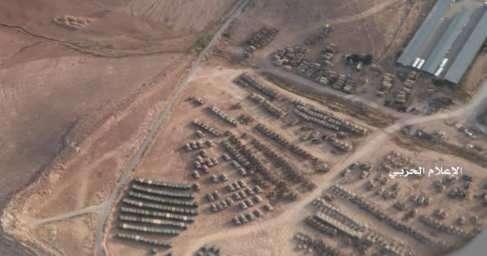 Американские бандиты стянули к границе Сирии большое количество бронетехники!