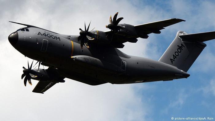 Германия отказывается от новых аэробусов A400M, разваливающихся прямо с завода