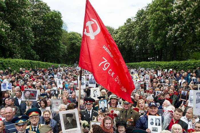 Непокорённый русский народ: как на оккупированной нацистами Украине отпраздновали 9 мая