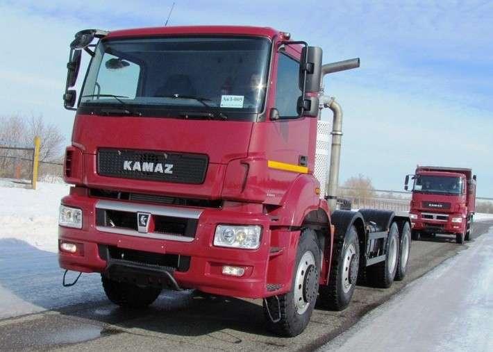Сверхтяжелые гиганты КАМАЗа запущены всерийное производство