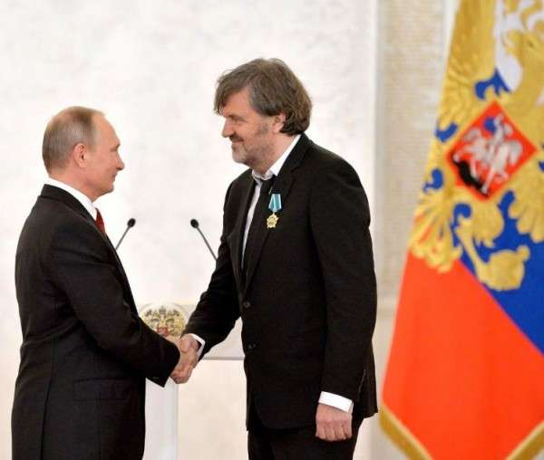 Путин и Кустурица