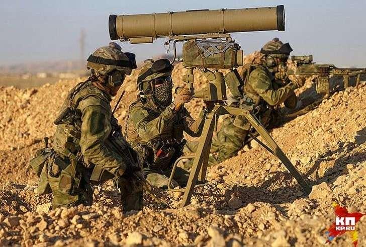 16 российских спецназовцев в провинции Алеппо в течение суток отбивали наступление 300 боевиков