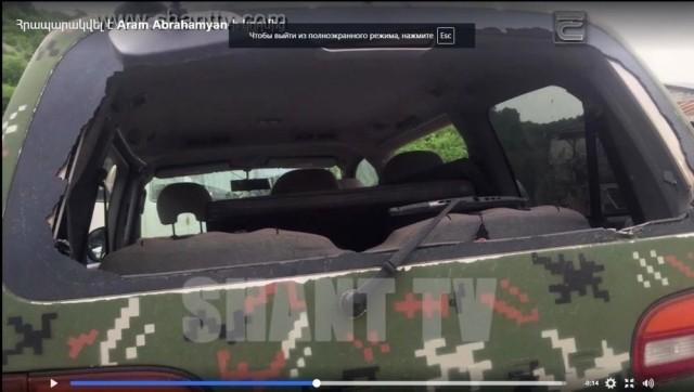 Нагорный Карабах: после азербайджанского обстрела ранен оператор армянской телекомпании