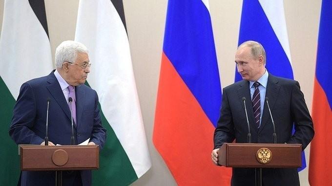 Заявления Владимира Путина и Махмуда Аббаса поитогам российско-палестинских переговоров