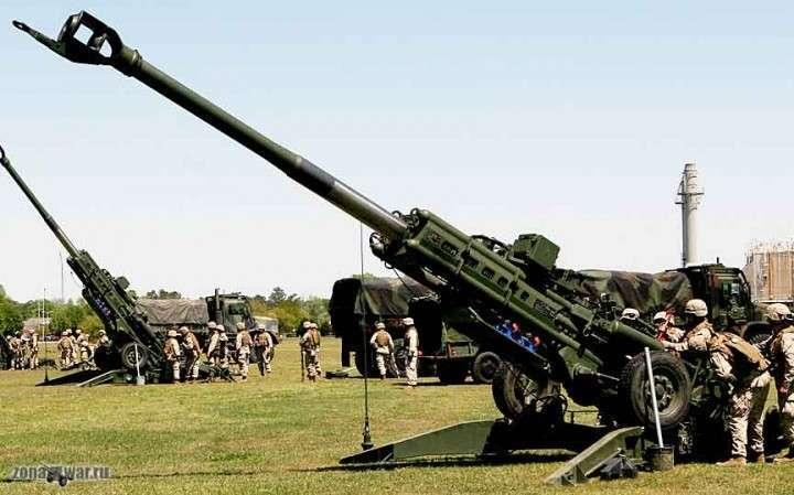 Карателям хунты перебрасывают американские гаубицы М777