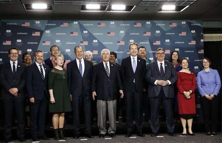 Министерская встреча Арктического совета на Аляске