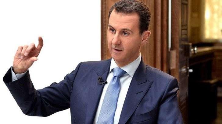 Башар Асад: современная политика не регулируется этикой