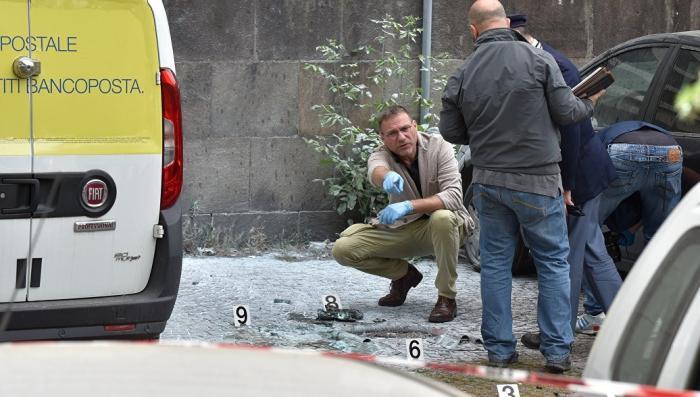 У здания ООН в центре Рима прогремел взрыв