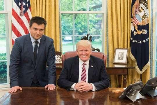 Порошенко заплатил за встречу Климкина с Трампом 400 тыс. долларов. Неудивительно, что он улыбается
