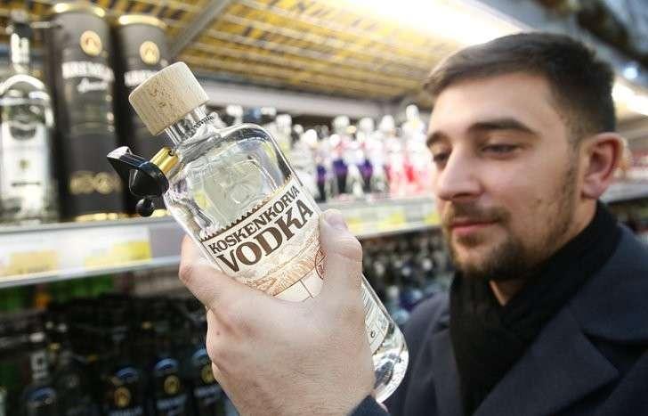 Минимальная розничная цена водки выросла до 205 рублей за0,5л