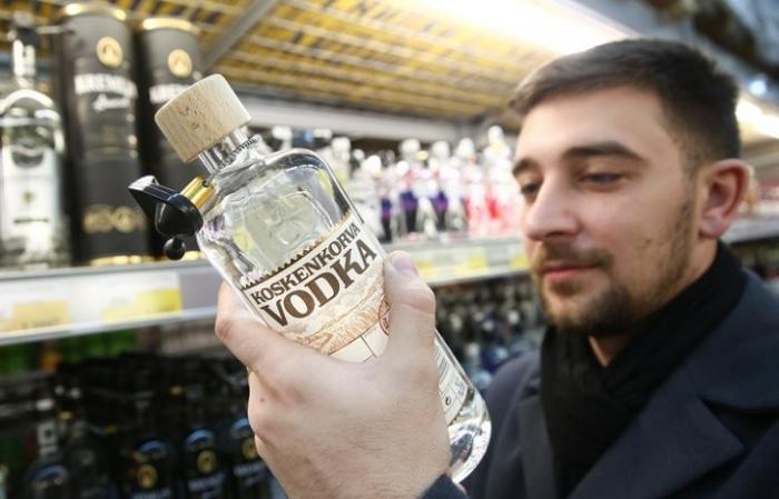 Борьба за трезвость: минимальная розничная цена водки выросла до 205 рублей за0,5л