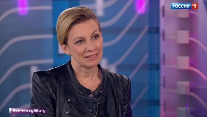 Днище и агония: Мария Захарова рассказала в интервью о визите в Белый дом