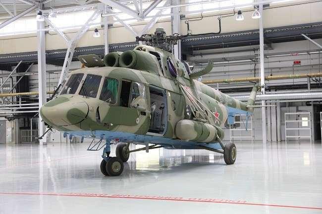 Открыт новый малярно-отделочный цех Казанского вертолётного завода