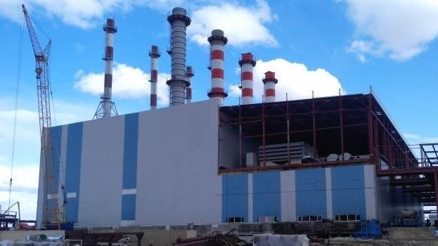 В Якутии на ГРЭС-2 произвели пробный пуск второй газовой турбины