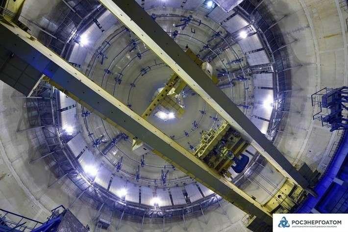 Напервом блоке ЛАЭС-2 успешно завершились испытания герметичной оболочки здания реактора