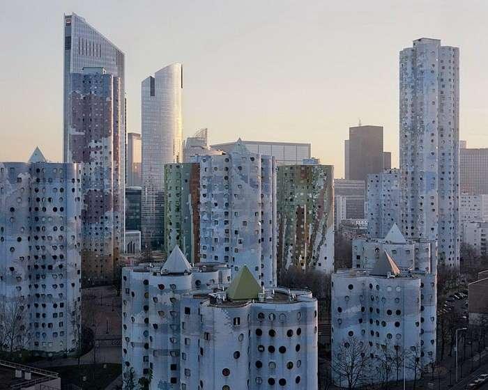 Забытый город в Париже.