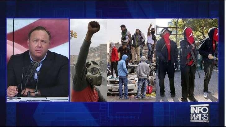США: гражданская война в стране неизбежна. Алекс Джонс
