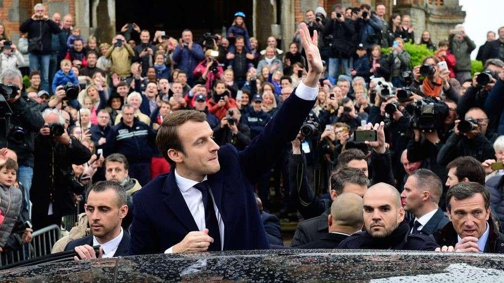 Во Франции состоялась церемония инаугурации Эммануэля Макрона