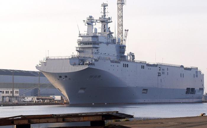 Россия получила «Мистраль» даром вместе с военными технологиями