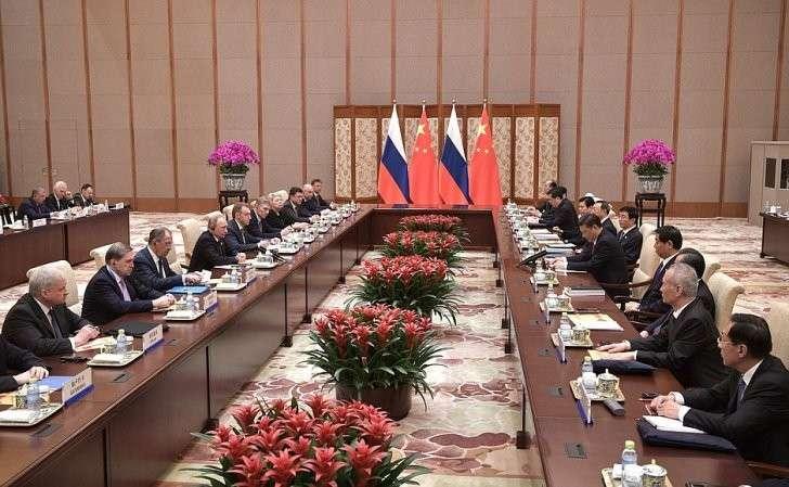 Российско-китайские переговоры.