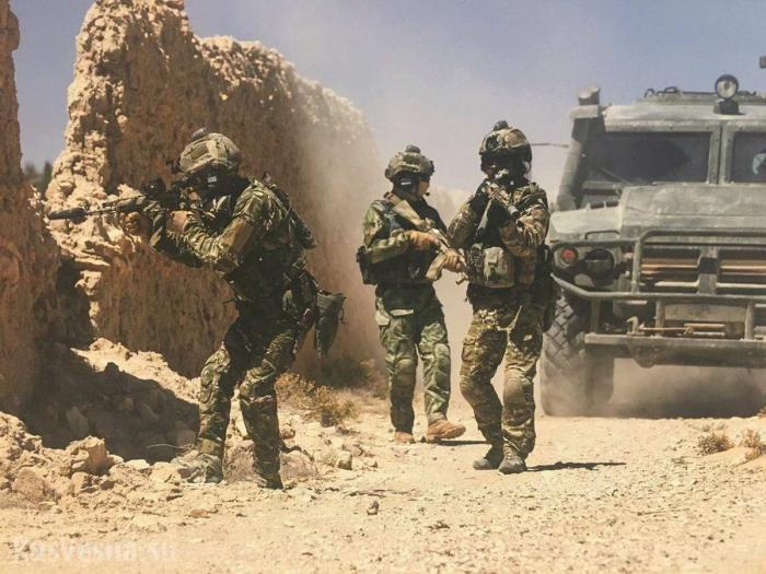 Сирия: «Cпецназ из СССР» уничтожил отряд наёмников у Пальмиры