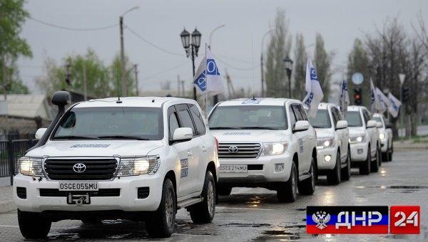 В ДНР подтвердили информацию о подвозе миссионерами ОБСЕ боеприпасов на позиции карателей
