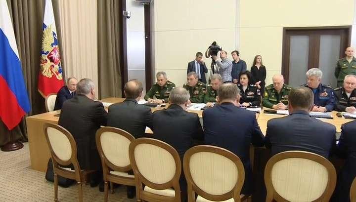 Владимир Путин заявил о необходимости уточнить подход к переоснащению войск