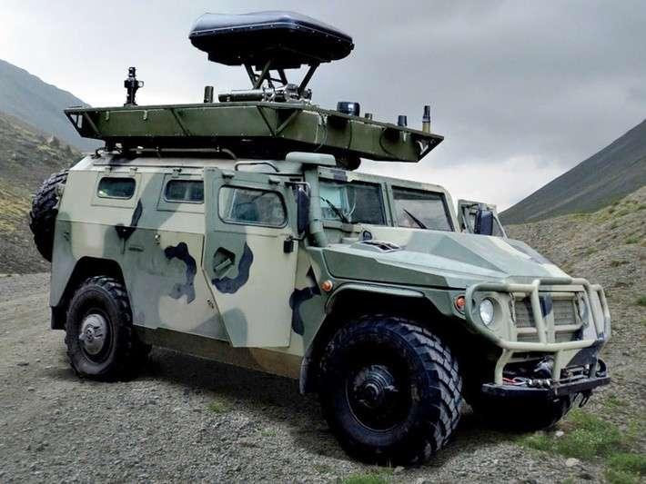 Вподразделения РЭБ российской военной базы вАбхазии поступили новые мобильные комплексы «Леер-2»
