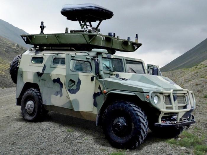 Российская военная база вАбхазии получила новые мобильные комплексы РЭБ «Леер-2»